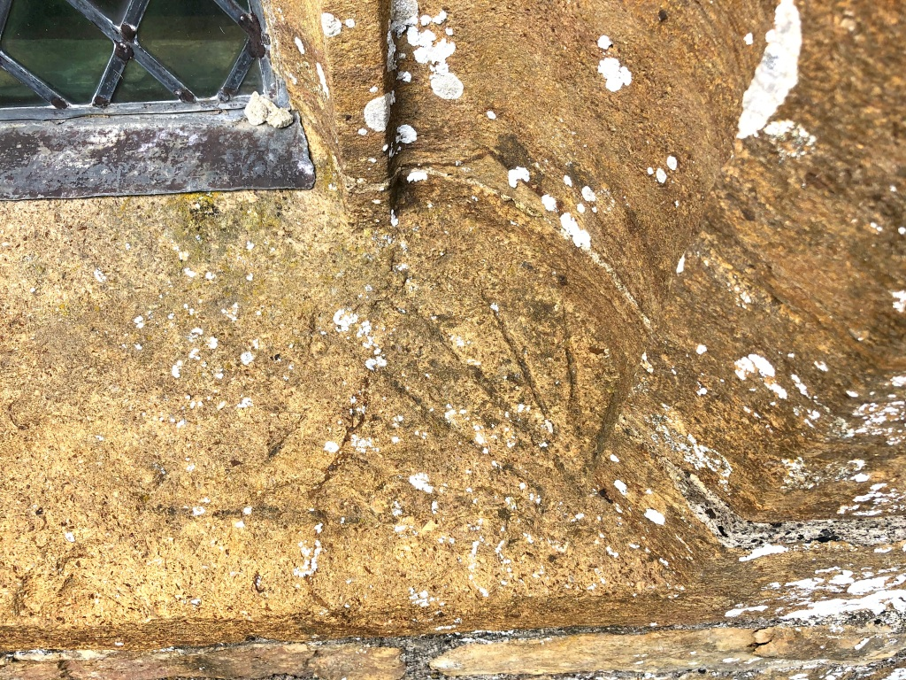 St Mary Magdalene Thornford Dorset Scratch dial 1b